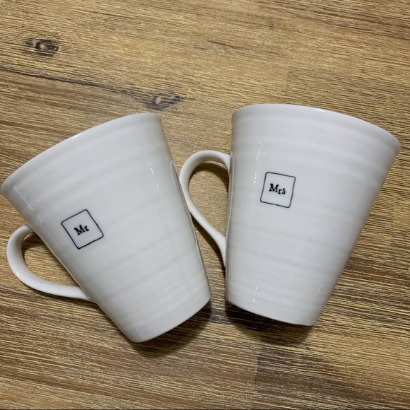 east of india Other - East of India- Mr. & Mrs. Coffee Cups